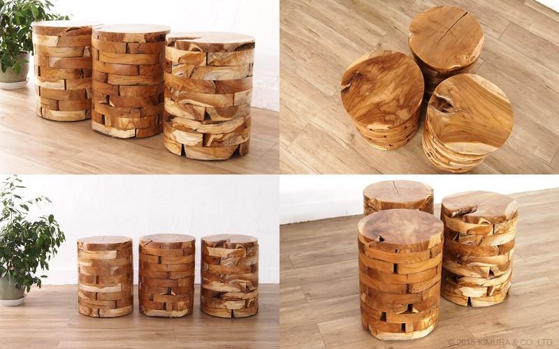 使うほど味わい深く、ヴィンテージでアンティークな趣に変化する経年変化をお楽しみ頂ける木製のナチュラルインテリアです。サイドテーブルとしてもお使い頂けます。