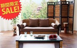 南国情緒溢れるアジアン家具バナナリーフシリーズが激安特価セール!