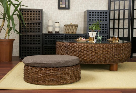 一人暮らし、自分のお部屋、新生活やリビングにおすすめのインテリアショップランドマークのアジアン×和風な籐家具です。