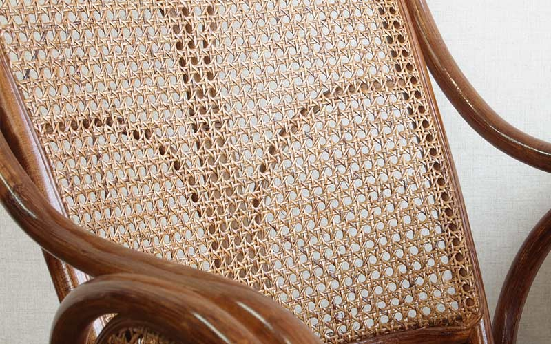 ラタン 籐 カゴメ編み