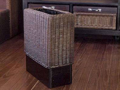 人気のおすすめインテリア雑貨 ごみ箱 おしゃれ ラタン 木製 モダン 北欧 ミッドセンチュリー アジアン家具 アジアン雑貨 バリ インテリア 安い