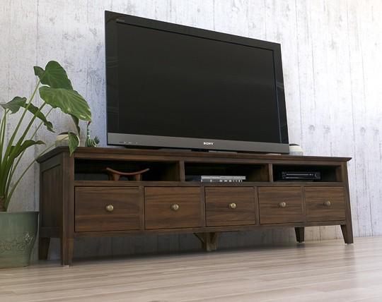 自社開発、自社生産、自社販売だから安い!こだわりのテレビボードです