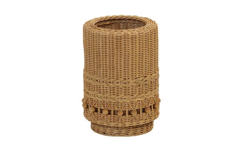 【fiore(フィオーレ)】籐(ラタン)製 ゴミ箱 ダストボックス(GK807HN)サンフラワーラタン キムララタン sunflower rattan