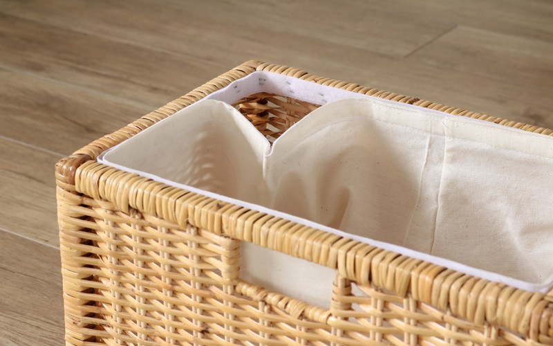 籐製収納ボックス