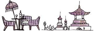 アジアンナチュラルスタイル。バリ島の癒しのインテリア空間をお部屋に