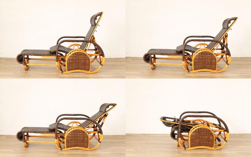 背もたれは3段階リクライニング+フルフラット状態で、お好みのスタイルに合わせてご使用できます。