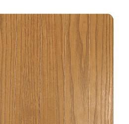 ランドマークのウッドカーペットは高級家具にも使用されるオーク突板を使用しています。
