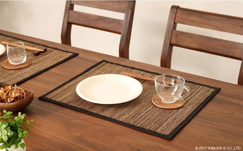 世界三大銘木のチーク無垢材をフレームに贅沢に使用し、飽きのこないシンプルで洗練されたデザインのダイニングテーブルセット