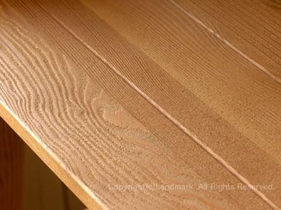 枯木を再現した木製フレーム