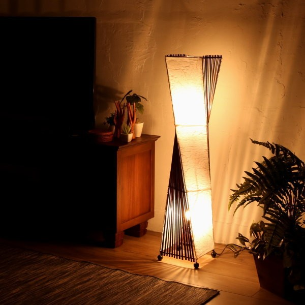 アジアン照明 フロアスタンドライト