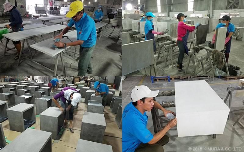 強靭なグラスファイバー強化コンクリート