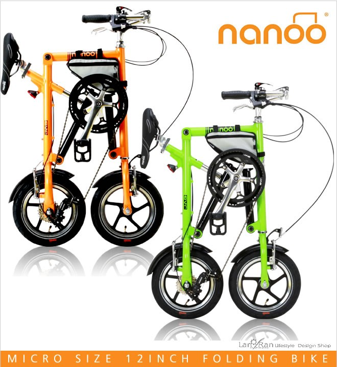 「軽く!」の発想はもう古い。折りたたみ自転車は★♪世界初のリフトフォールディングシステム