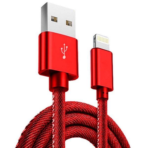 充電器 ケーブル 急速充電 ポイント消化 iPhone Type-C MicroUSB Android 丈夫 保護 デニム かっこいい 1.2m 1.8m|lanui|15