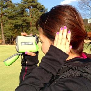 レーザーアキュラシー専用カバーを付けておけば、レンズフタを外してすぐにカバーを付けたまま計測できます。