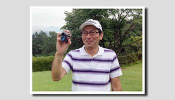 佐藤様(60歳代) ハンデ6。シングルプレーヤー。