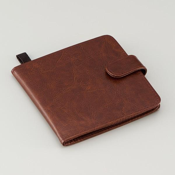 カードケース 薄型 スマートnaカードケースmini レッド ブラウン カード入れ スリム コンパクト レディース メンズ 1000円 ポッキリ スリム収納カードケース le-cure 09