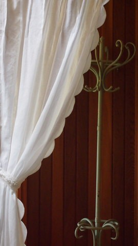 カーテン 突っ張り棒 間仕切り パネルカーテン 洋風 のれん おしゃれ インテリア 目隠し 布 ナチュラル タペストリー