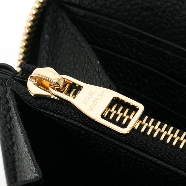 ルイヴィトン LOUIS VUITTON 財布 長財布 メンズ レディース ラウンドファスナー ジッピー・ウォレット モノグラム・アンプラント ノワール M61864(旧品番M60571)