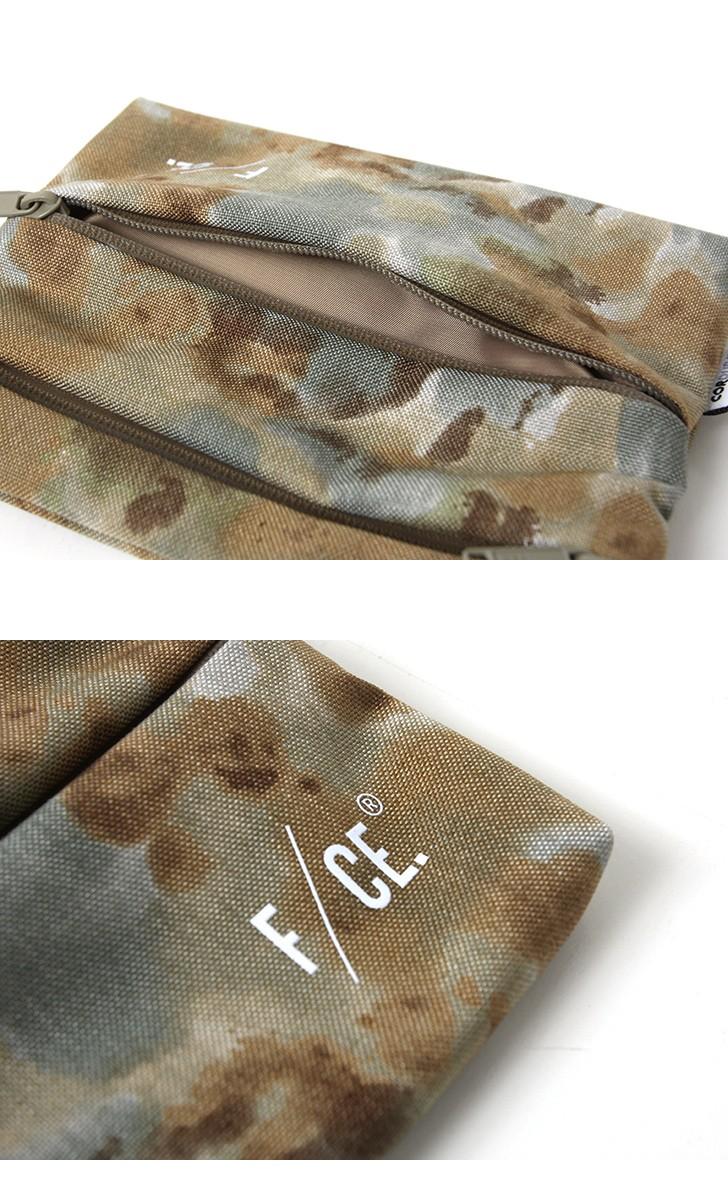 CE. メンズ US CDR SACOCHE L エフシーイー カモフラージュ F/ Lサイズ バッグ ミリタリー F1801SE0018 カモ柄 コーデュラナイロンサコッシュ レディース