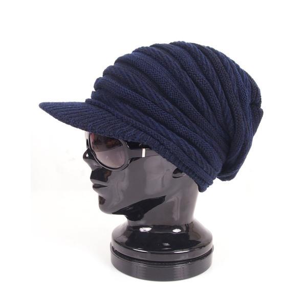 ニット帽 レディース メンズ ニットキャップ 帽子 ニットキャスケット 男女兼用 ユニセックス 小顔効果 つば付き 防寒 無地 秋冬 セール|leadmen|32