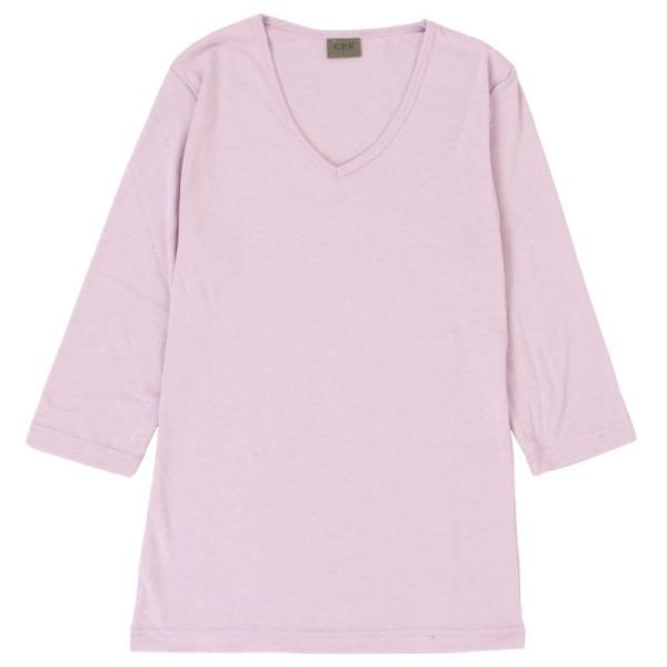 Tシャツ メンズ 半袖 無地 カットソー Vネック インナー メンズ 7分袖 半袖Tシャツ ストレッチ フライス トップス 七分袖 おしゃれ オシャレ セール|leadmen|40