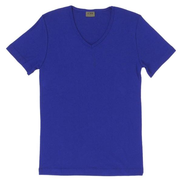 Tシャツ メンズ 半袖 無地 カットソー Vネック インナー メンズ 7分袖 半袖Tシャツ ストレッチ フライス トップス 七分袖 おしゃれ オシャレ セール|leadmen|30