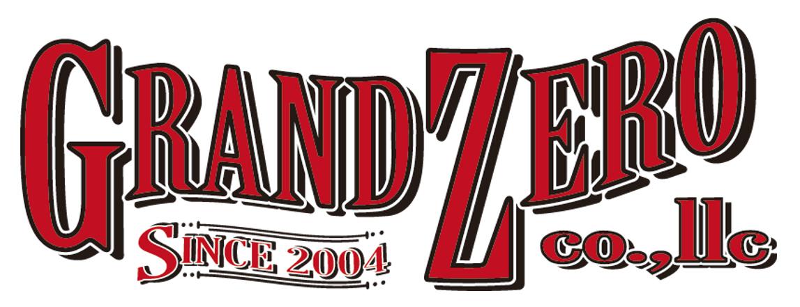 ハンドメイドレザー GRANDZERO ロゴ
