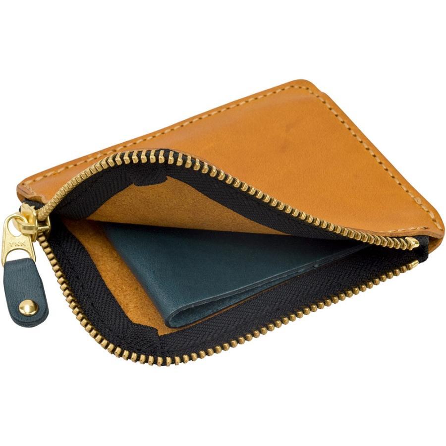 栃木レザー ショートウォレット オリジナルマルチカラー OM バイカラー 短財布 日本製 薄い 小銭入れ コインケース ポケット財布 TDSG-1002OM|leather-z|17