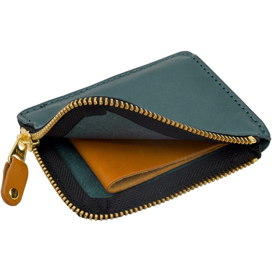 栃木レザー ショートウォレット オリジナルマルチカラー OM バイカラー 短財布 日本製 薄い 小銭入れ コインケース ポケット財布 TDSG-1002OM|leather-z|15