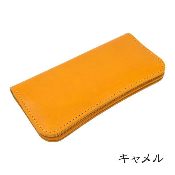 栃木レザー 長財布 メンズ 財布 牛革 日本 国産革 ロングウォレット 本革 日本製 職人技 シンプル タンニングレザー TDSG-1008 数量限定|leather-z|10