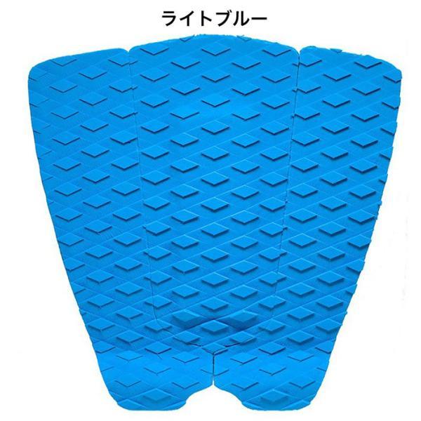 サーフィンデッキパッド デッキパッチ ロゴ無し デッキグリップ サーフィングッズ deckpad  deckgrip 迷彩 カモフラ柄 ボーダー チェック|leathers|14