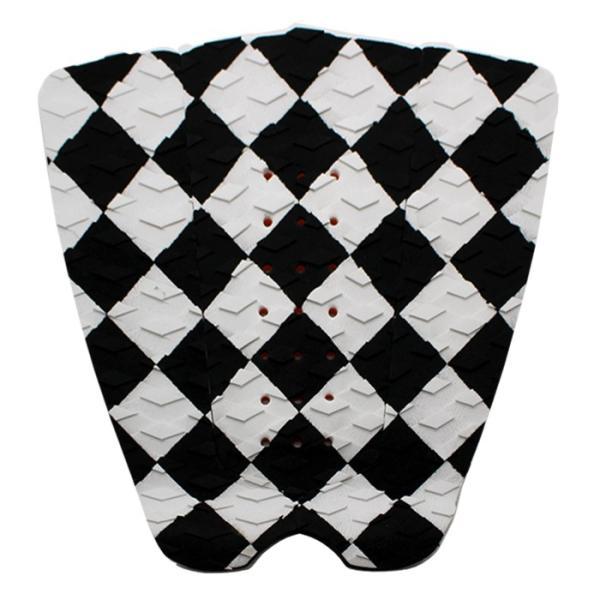 サーフィンデッキパッド デッキパッチ ロゴ無し デッキグリップ サーフィングッズ deckpad  deckgrip 迷彩 カモフラ柄 ボーダー チェック|leathers|24