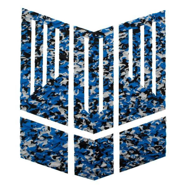 フロント用デッキパッド  フロントパッド サーフィンデッキパッド デッキパッチ ロゴ無し デッキグリップ サーフィングッズ deckpad  deckgrip 迷彩 カモフラ柄|leathers|20