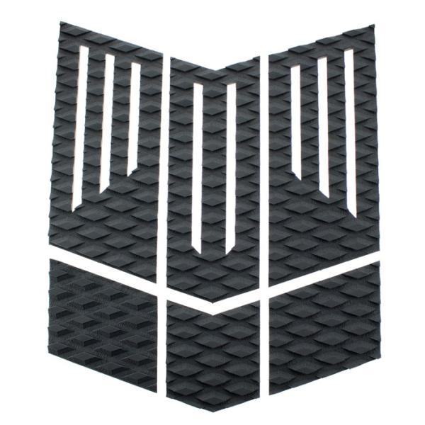 フロント用デッキパッド  フロントパッド サーフィンデッキパッド デッキパッチ ロゴ無し デッキグリップ サーフィングッズ deckpad  deckgrip 迷彩 カモフラ柄|leathers|13