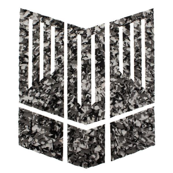 フロント用デッキパッド  フロントパッド サーフィンデッキパッド デッキパッチ ロゴ無し デッキグリップ サーフィングッズ deckpad  deckgrip 迷彩 カモフラ柄|leathers|21