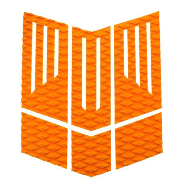 フロント用デッキパッド  フロントパッド サーフィンデッキパッド デッキパッチ ロゴ無し デッキグリップ サーフィングッズ deckpad  deckgrip 迷彩 カモフラ柄|leathers|16