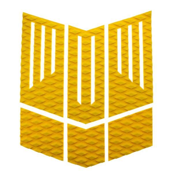フロント用デッキパッド  フロントパッド サーフィンデッキパッド デッキパッチ ロゴ無し デッキグリップ サーフィングッズ deckpad  deckgrip 迷彩 カモフラ柄|leathers|17