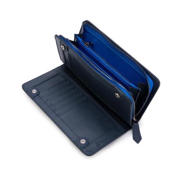 長財布 メンズ 財布 二つ折り ブランド カーボン レザー 大容量 スマホ も入る 多機能 レガーレ|legare-factory|26