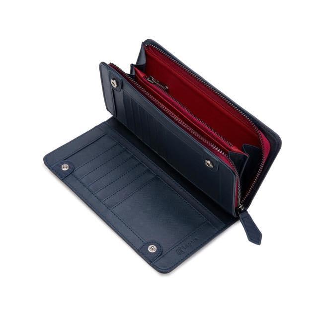 長財布 メンズ 財布 二つ折り ブランド カーボン レザー 大容量 スマホ も入る 多機能 レガーレ|legare-factory|28