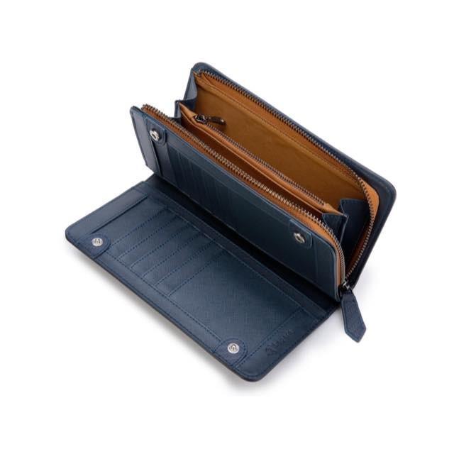 長財布 メンズ 財布 二つ折り ブランド カーボン レザー 大容量 スマホ も入る 多機能 レガーレ|legare-factory|25