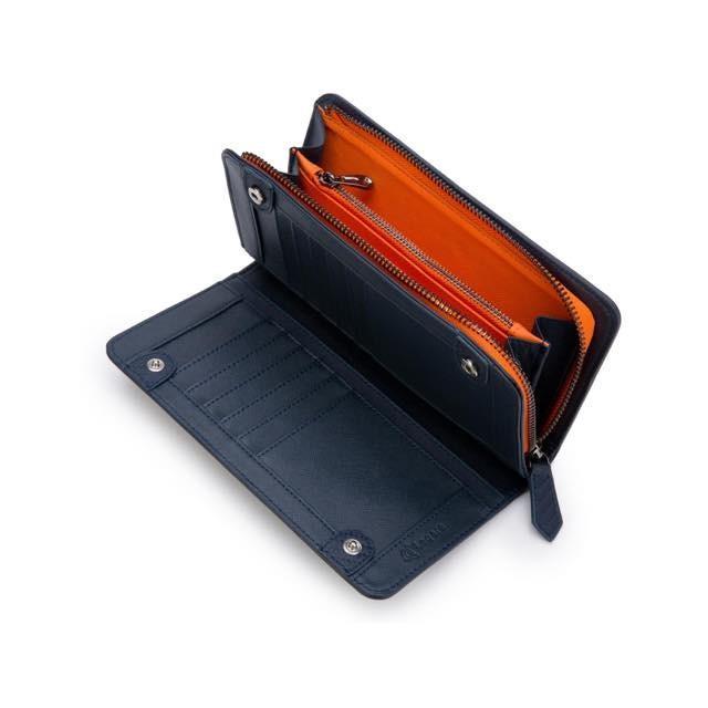 長財布 メンズ 財布 二つ折り ブランド カーボン レザー 大容量 スマホ も入る 多機能 レガーレ|legare-factory|27