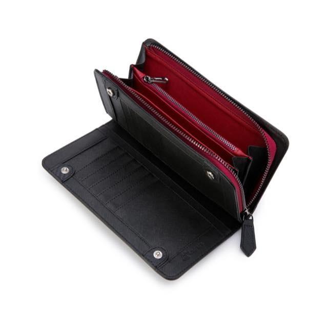 長財布 メンズ 財布 二つ折り ブランド カーボン レザー 大容量 スマホ も入る 多機能 レガーレ|legare-factory|23