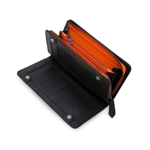 長財布 メンズ 財布 二つ折り ブランド カーボン レザー 大容量 スマホ も入る 多機能 レガーレ|legare-factory|22