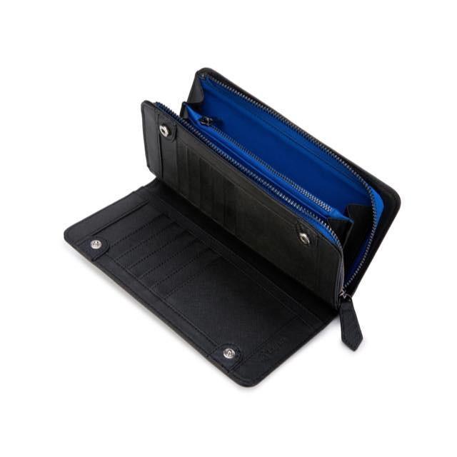 長財布 メンズ 財布 二つ折り ブランド カーボン レザー 大容量 スマホ も入る 多機能 レガーレ|legare-factory|21