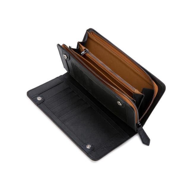長財布 メンズ 財布 二つ折り ブランド カーボン レザー 大容量 スマホ も入る 多機能 レガーレ|legare-factory|20