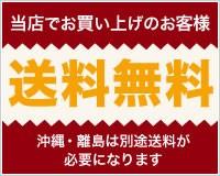 送料無料 沖縄・離島は別途送料が必要です