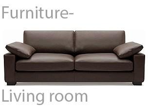 家具:リビングルーム