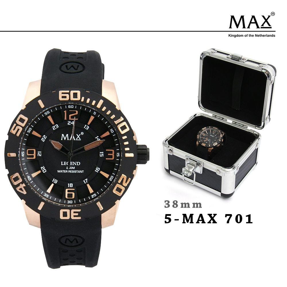 MAX,XL,WATCHES,マックス,メンズ,レディース,腕時計,クロノグラフ,シリコン,ラバー,バンド,スポーツ,679,680,681,701,オランダ,ヨーロッパ,EU,大きい,2年保証書