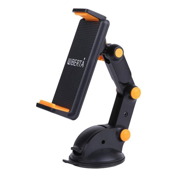 車載ホルダー スマホスタンド タブレット 携帯ホルダー 角度調節 360度回転 吸盤|liberta-shop|07