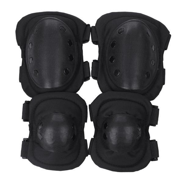 プロテクター 膝 エルボーパッド サバゲー スケボー 肘 タイプB|liberta-shop|06